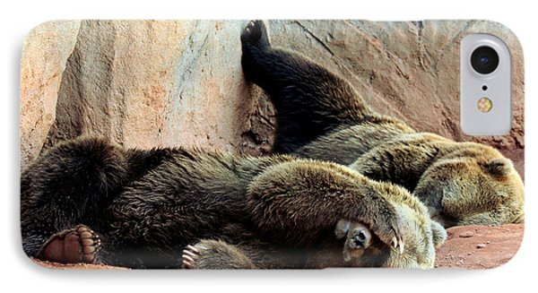 IPhone Case featuring the photograph Lazy Bears by Sheila Brown
