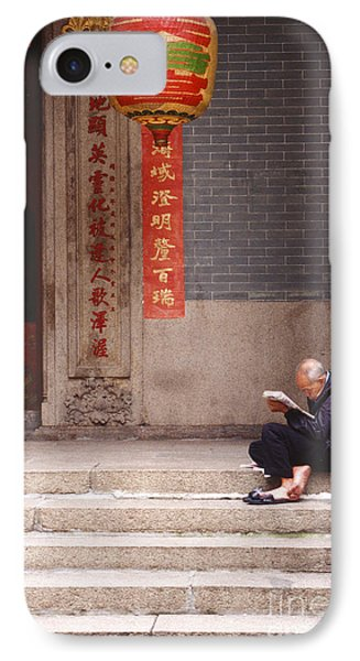 Lazy Day In Hong Kong Phone Case by Sandra Bronstein