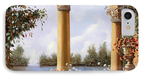 Le Arcate Sul Lago IPhone Case by Guido Borelli