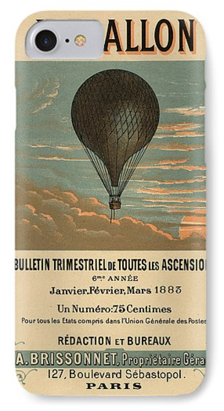 Le Balloon Journal IPhone Case