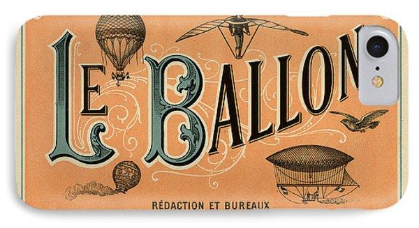 Le Balloon IPhone Case