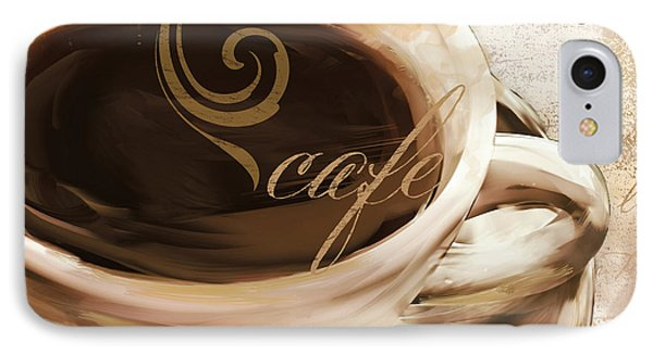 Le Cafe Light IPhone Case by Mindy Sommers