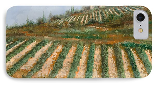 Le Case Nella Vigna IPhone Case by Guido Borelli