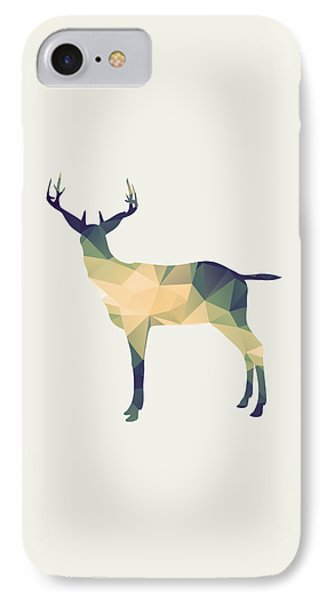 Le Cerf IPhone Case by Taylan Apukovska
