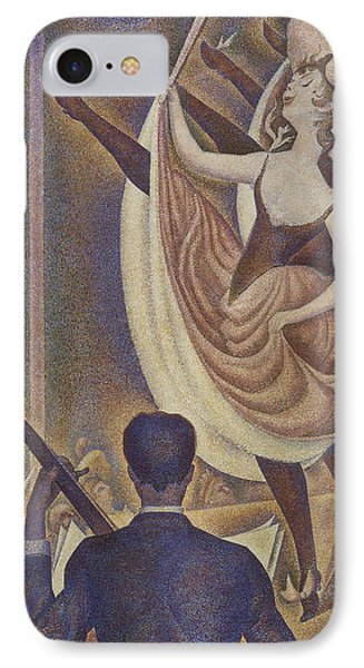 Le Chahut IPhone Case by Georges Pierre Seurat