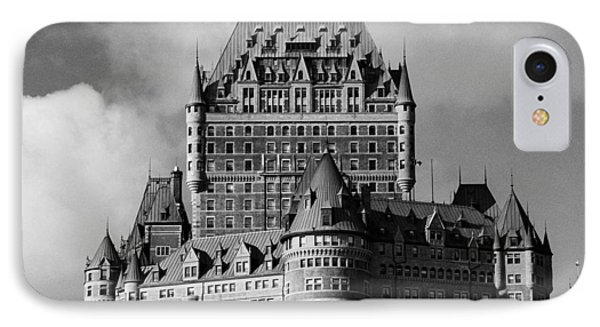 Le Chateau Frontenac - Quebec City IPhone Case by Juergen Weiss