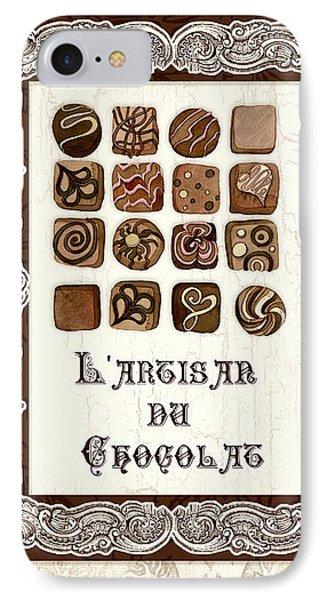 Le Chocolatier - L Artisan Du Chocolat IPhone Case by Audrey Jeanne Roberts
