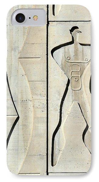 Le Corbusier Design Phone Case by Chris Hellier