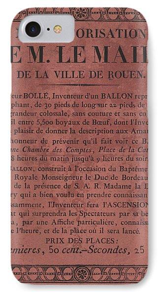 Le Maire Balloon Race IPhone Case