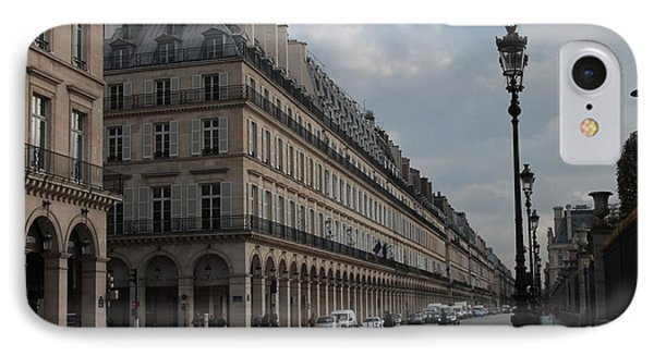 IPhone Case featuring the photograph Le Meurice Hotel, Paris by Christopher Kirby