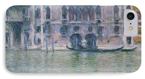 Le Palais Da Mula IPhone Case by Claude Monet