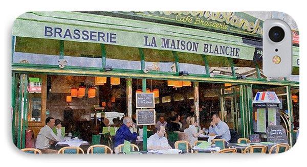 Le Paris Maison IPhone Case by Matthew Bamberg