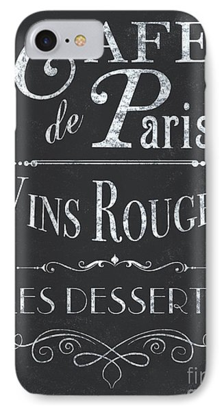 Le Petite Bistro 2 IPhone Case by Debbie DeWitt