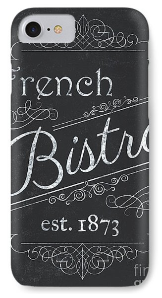 Paris iPhone 7 Case - Le Petite Bistro 4 by Debbie DeWitt