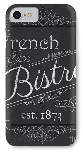 Le Petite Bistro 4 IPhone Case by Debbie DeWitt