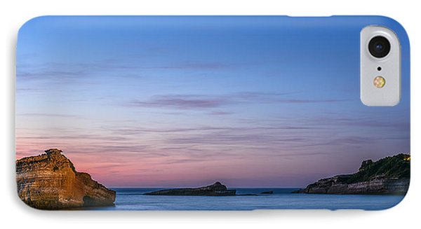 IPhone Case featuring the photograph Le Phare De Biarritz by Thierry Bouriat