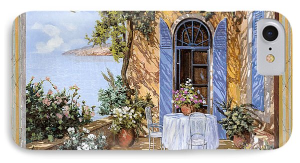 Le Porte Blu IPhone Case by Guido Borelli