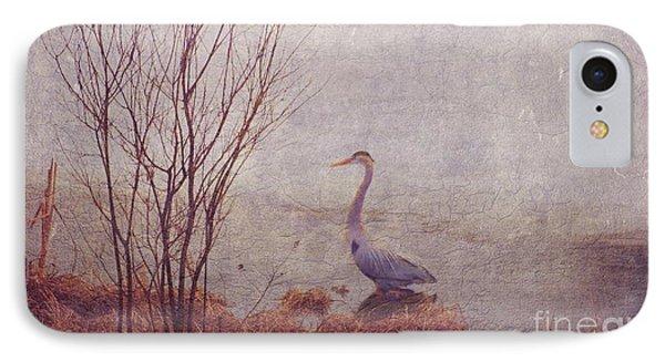 Le Retour De Mon Heron IPhone Case by Aimelle