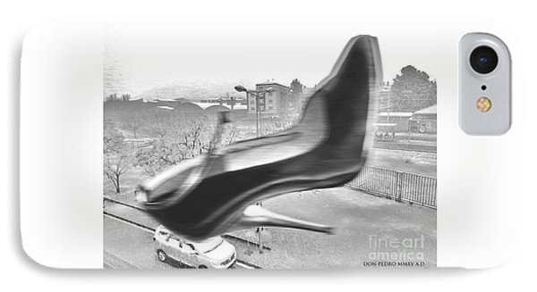 Flying Stiletto IPhone Case by Don Pedro De Gracia