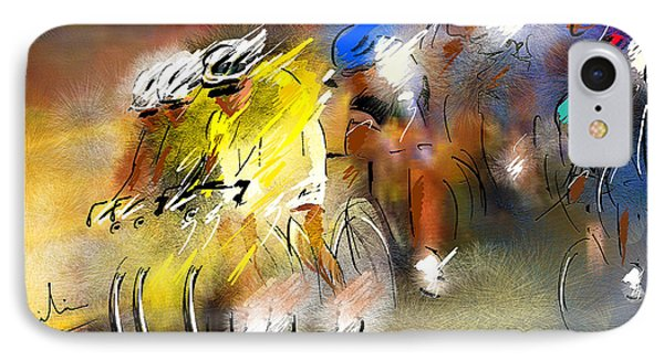 Le Tour De France 05 IPhone Case
