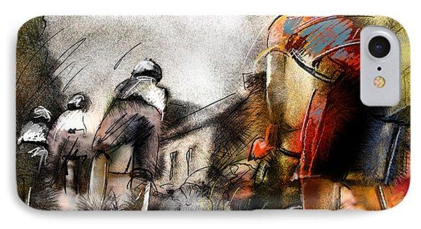 Le Tour De France 06 Phone Case by Miki De Goodaboom