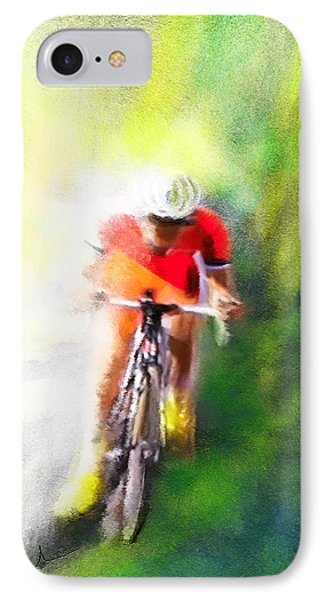Le Tour De France 12 Phone Case by Miki De Goodaboom