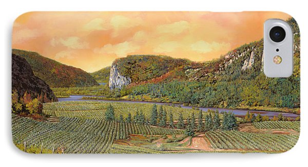 Le Vigne Nel 2010 IPhone Case by Guido Borelli