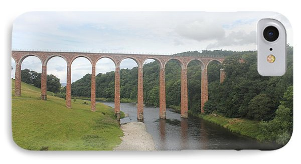 IPhone Case featuring the photograph Leaderfoot Viaduct by David Grant