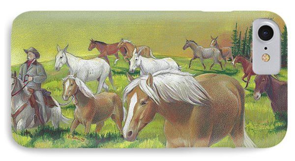 Leading The Bell Mare IPhone Case