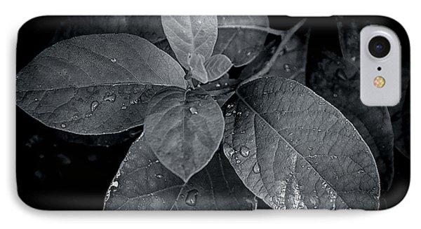 Leaf Droplets IPhone Case