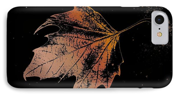 Leaf On Bricks Phone Case by Tim Allen