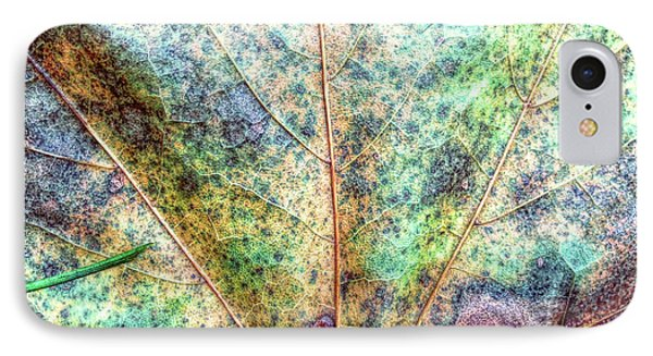 Leaf Terrain IPhone Case by Todd Breitling