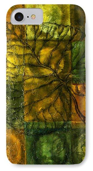 Leaf Whisper Phone Case by Leon Zernitsky