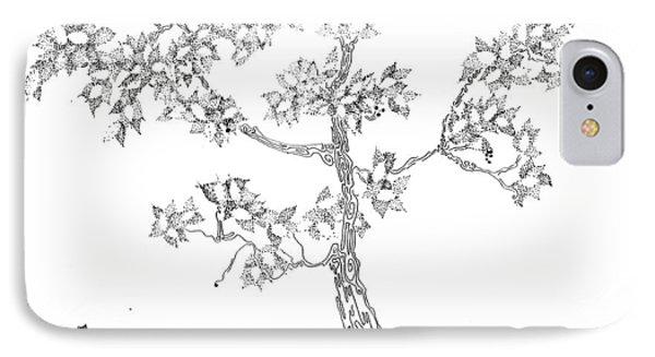 Leafy Jewels Phone Case by Regina Valluzzi