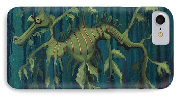 Leafy Sea Dragon IPhone Case by Kelly Jade King