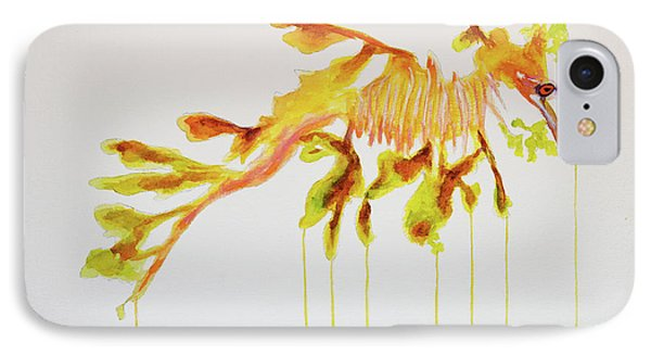 Leafy Sea Dragon IPhone Case by Ken Figurski