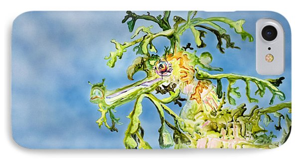 Leafy Sea Dragon IPhone Case by Tanya L Haynes - Printscapes