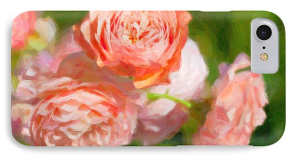 Leander English Rose IPhone Case by Verena Matthew