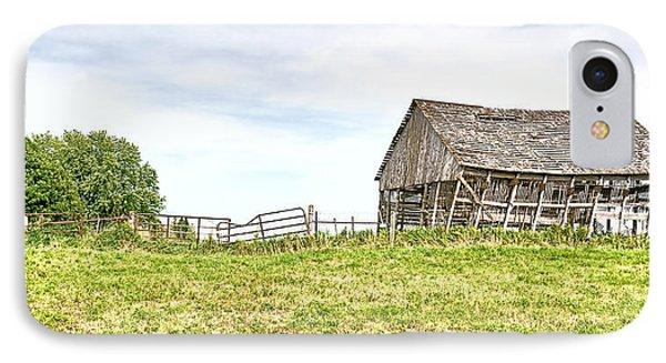 Leaning Iowa Barn IPhone Case by Scott Hansen