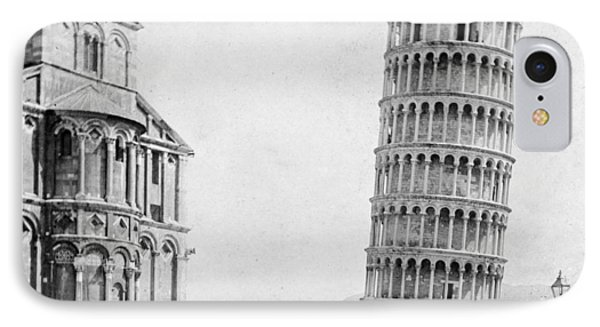 Leaning Tower Of Pisa Italy - C 1902  IPhone Case by International  Images
