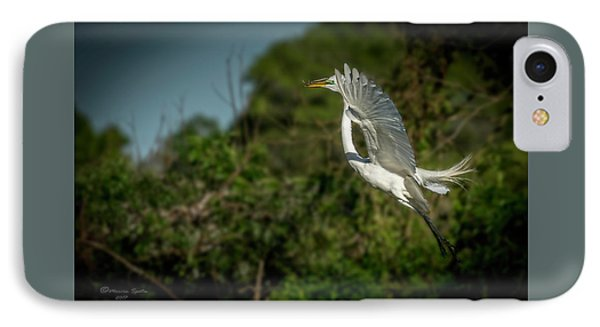 IPhone Case featuring the photograph Leap Of Faith by Marvin Spates