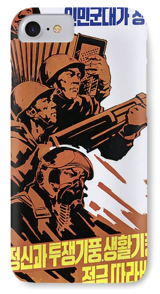Learn From The People's Army IPhone Case by Daniel Hagerman