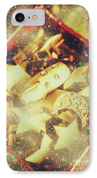 Magician iPhone 7 Case - Learning The Magic Of Stars And Space by Jorgo Photography - Wall Art Gallery