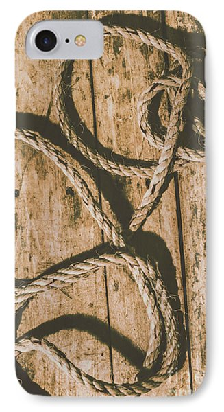 IPhone 7 Case featuring the photograph Learning The Ropes by Jorgo Photography - Wall Art Gallery