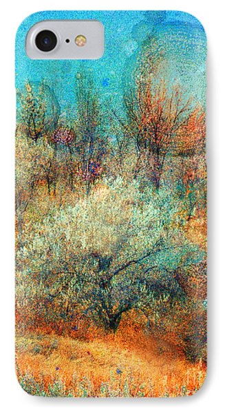 Leave It To The Trees To Dance In The Cold Phone Case by Tara Turner
