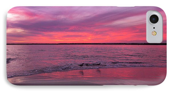 Sandpiper iPhone 7 Case - Leave Us To Dream 2 by Betsy Knapp