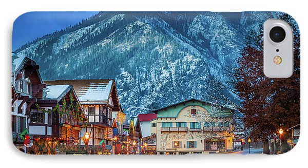Leavenworth Alpine View Phone Case by Inge Johnsson