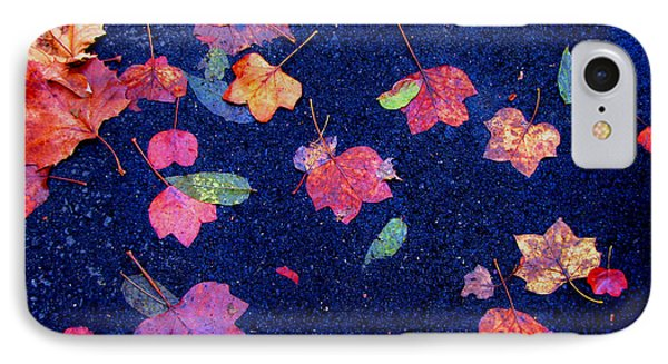 Leaves IPhone Case by Christopher Woods