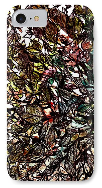 Leaves Hidden Everywhere Phone Case by Garima Srivastava
