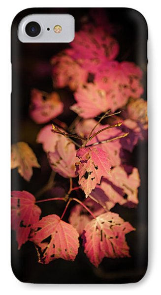IPhone Case featuring the photograph Leaves Of Surrender by Karen Wiles
